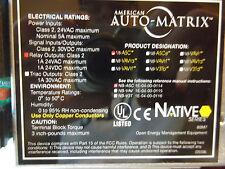 American Auto-Matrix NB-ASC  Controller