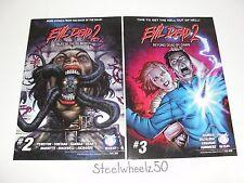 Evil Dead 2 Beyond Dead By Dawn #3 & Tales Ex-Mortis #2 Comic Lot 2015 Ash Army