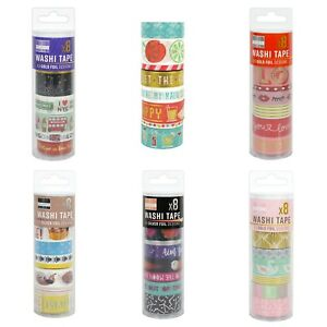 First Edition washi craft tape tube sets - various designs FREE P&P