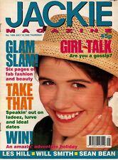 Jackie Magazine 18 July 1992 No. 1489    Take That    Les Hill    Jakki Brambles