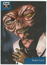 The Lost Worlds of Gerry Anderson Sketch Card drawn by Louise Draper