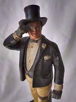 BERNARD BLOCH  Vervielfaltigung Vorbehalten  Man w/ Monocle #4207 Figurine