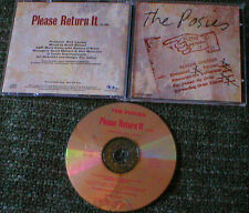 The Posies Please Return It  Promo CD Single PRO-CD-4856 1996 Geffen Records