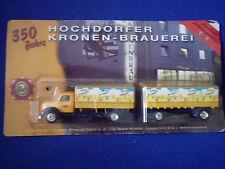 Modèle maquette de camion bière Magirus Deutz Sirius Hochdorf publicité MW2
