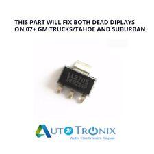 2X LL2705 MOSFET GM Cluster Display Repair Silverado Yukon Tahoe Suburban Sierra