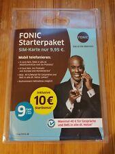 Fonic Classic 9cent SIM Prepaid Karte o2 selten  *28