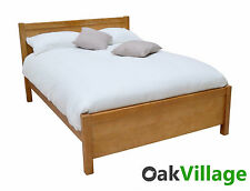 Oak Kingsize Bed / Solid Wood 5ft Bed / Bed Frame / Bedroom / Brand New Wellow