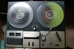 SONY TC-350 Stereo Reel To Reel Tape Recorder Player Vintage Japan WORKS