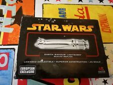 Star Wars Master Replica Dath Sidious lightsaber 0.45 scale replica