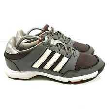 New listing Adidas Tech Response 4.0 Spiked Golf Shoes Men's Size 9 Gray White Q47083