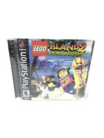Lego Island 2 The Brickster's Revenge PS1 Complete Tested Playstation