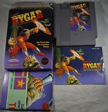 Rygar HANGTAB (Nintendo NES) Complete in Box GOOD