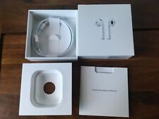 Apple Airpods Box, Lightning Cable & Instructions ONLY! NO Airpods & Charge Case