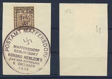 Maffersdorf 12 Francobolli su lettera ME 60 (543046)