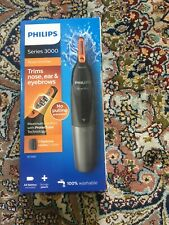 Philips Series 3000 Battery-Operated Nose, Ear & Eyebrow Trimmer NT3160/15