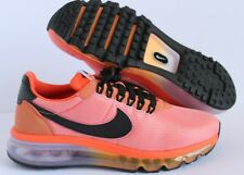 NIKE AIR MAX LD-ZERO ID 2009 2013 PEACH-ORANGE-BLACK SZ 8  [AA3174-992]