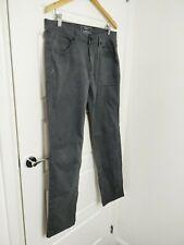 DKNY Williams Burg Slim Men's Grey Cotton Blend  Pants 33/30
