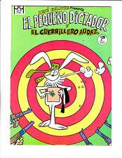 "El Pequeno Dictador No 6-1971 -Spanish Little Dictator-  ""Firing Squad Cover ! """