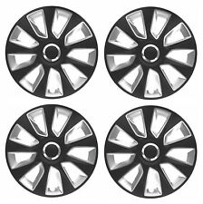 "4 x Wheel Trims Strat Hub Caps 13"" Covers fits Toyota Avensis Aygo Yaris"