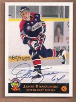 1994 Classic Pro Prospects Autographs #AU2 J.Bonsignore Auto /2450