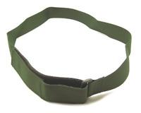 Cintura Vega Holster nylon Vega altezza cm 4 2V64 VERDE BLU NERO sottocintura