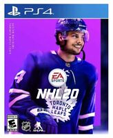 NHL 20 (PlayStation 4 PS4 2019) BRAND NEW FACTORY SEALED FREE SHIPPING Hockey