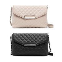 Lady Shoulder Bag Leather Clutch Chain Handbag Tote Purse Small Messenger Lot B9