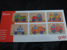 Goki 56689 - Memo Fahrzeuge