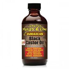 [JAMAICAN MANGO&LIME] PURE ORGANIC BLACK CASTOR OIL TREATMENT XTRA DARK 4OZ