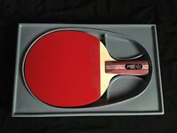 Genuine DHS R4006 Pen-Hold Style Table Tennis Paddle Racket 4-Star Ping Pong Bat