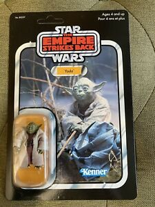 STAR WARS Yoda Kenner Carded Action Figure by Hasbro