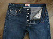 Top American Designer LEVI STRAUSS 501 Straight Leg Button Fly Jeans W30 L30