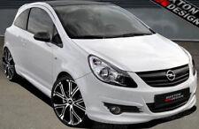 Opel Corsa D PREFACE 06-11 Sottoparaurti Spoiler Anteriore Diffusore Tuning ABS