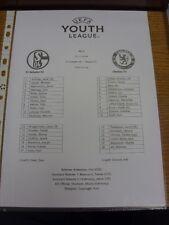 25/11/2014 Schalke Youth U19 v Chelsea Youth U19 [UEFA Youth League] (Single she