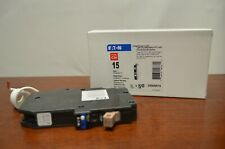 Cutler Hammer Eaton CHFAFGF115 Type CH Circuit Breaker Arc/GF 15A 1 Pole