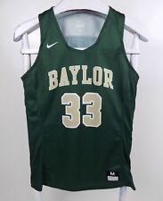 Nike Baylor University Bears Womens Green Basketball Jersey Size Medium