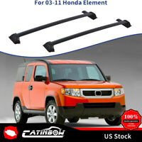 For 03-11 Honda Element Aluminium Roof Rack Rail Cross Bar Luggage Carrier