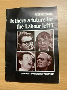 """1983 """"IS THERE A FUTURE FOR THE LABOUR LEFT?"""" PAPERBACK BOOKLET (LL)"""