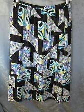 KOOS OF COURSE SIZE LARGE LONG SILK SKIRT LINED