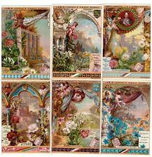 """Liebig Bilder Serie 258 """"Symbolische Blumen"""""""
