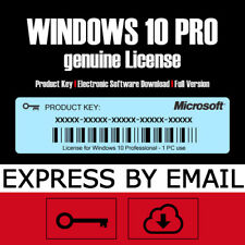 MS Win 10 PRO Key | Windows 10 Professional Product Key Activation Code