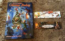 CHRISTMAS MONKEYS Joe R. Lansdale, Pete Von Scholly art 1st ed 300 LTD HC SIGNED