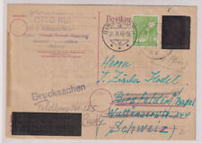 Not-/Beh.-/Aufbr.-GA, ex P 314II,946,Drucks Altbach(AD-Stpl)-Schweiz,16 FEB 46,