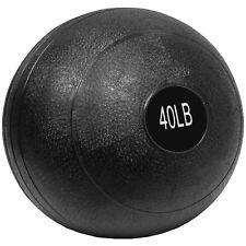 Valor Athletics 40lb Slam Ball Black SB-40 Fitness Ball NEW