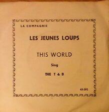 "nicole croisille-i'll never leave you-1968 7"" p/s- les jeunes loups OST-israeli"