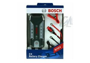 CARICABATTERIA MANTENITORE CARICA BOSCH C3 BATTERY CHARGER 6/12V 018999901M