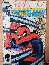 WEB OF SPIDERMAN #  4.  JULY 1985.  N.MINT  HIGH GRADE