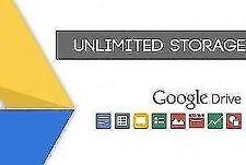 Unlimited Google Drive Account ( not dot edu domain extention )