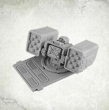 Legionary APC turret: Twin Missile Launcher Kromlech Resin KRVB027