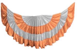 CORAL 25 Yard 4 Tiered Satin Skirt Belly Dance GYPSY Rock Tribal Flamenco